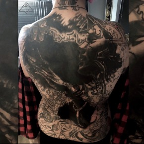 full back piece cover-up